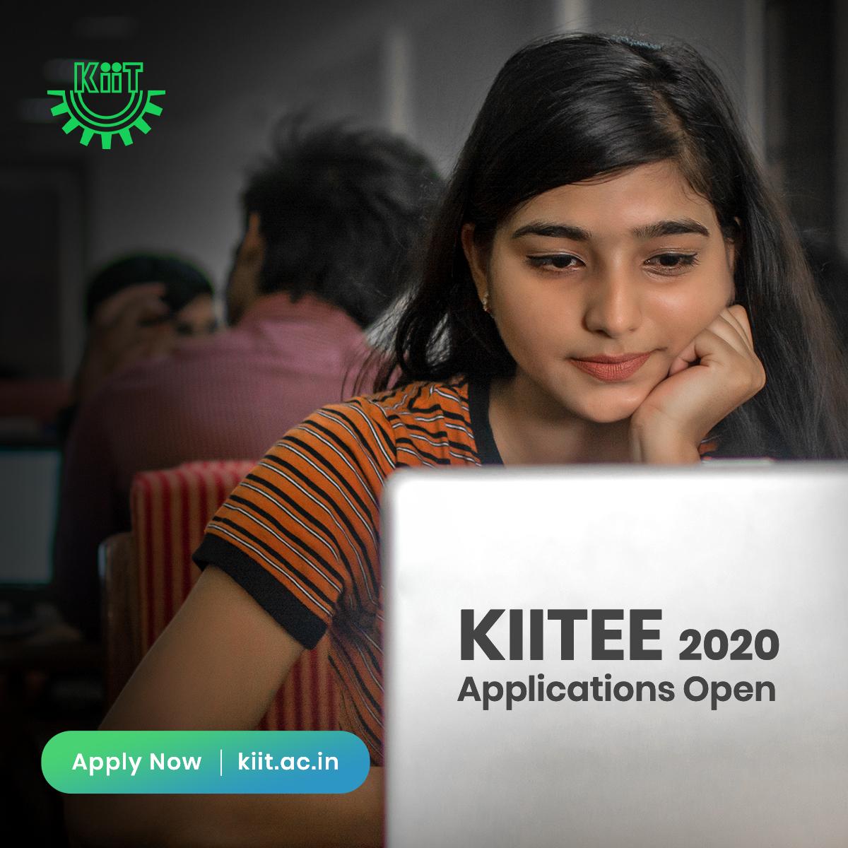 Kiitee Kiit Entrance Exam 2020 Online Application Form Apply For Free